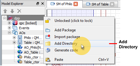 QM: Working with Directories