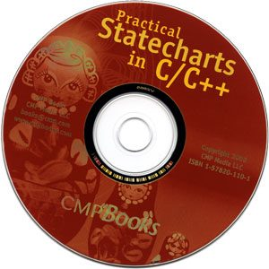 CD-ROM for the book Practical Statecharts in C/C++