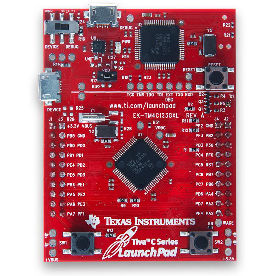 TivaC LanuchPad board
