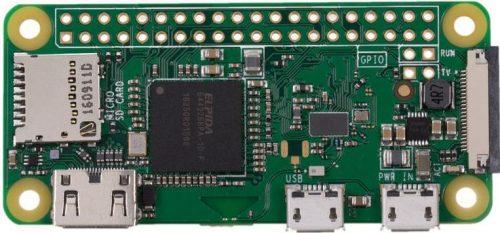 Board: Raspberry Pi Zero WiFi