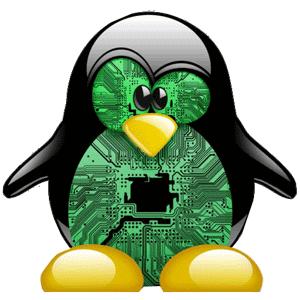 embedded linux logo