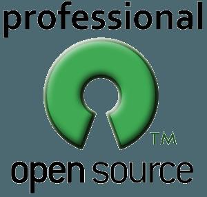 Professional open-source logo