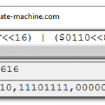 QCalc user interface