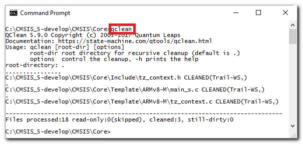 QClean screen shot